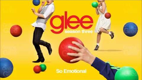 So Emotional - Glee HD Full Studio