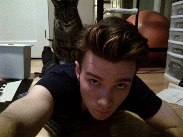 File:Chris and his cat.jpg