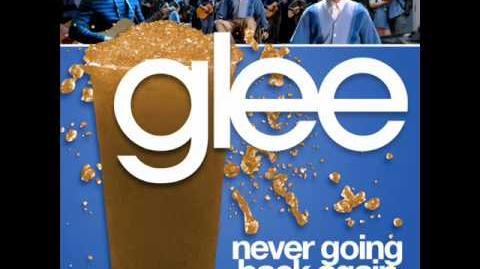 Glee - Never Going Back Again (Acapella)