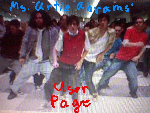 File:Ms. Artie Abrams' User Page.JPG