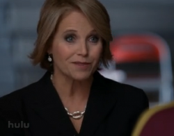 Katie Couric on Glee