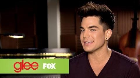 Glee Welcomes Adam Lambert GLEE