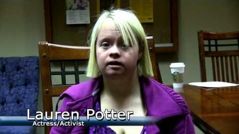 lauren potter disability
