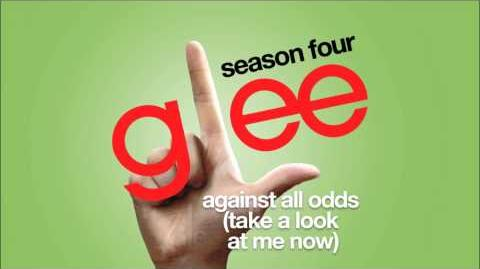Against All Odds (Take A Look At Me Now) Glee HD FULL STUDIO