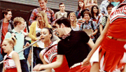 Santana and blaine its not unusual