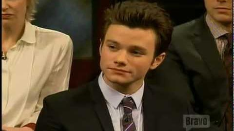 Story of Chris Colfer (Inside the actors studio)