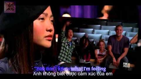 "♑ Lyrics Vietsub GLEE-Full Performance of ""Listen"""