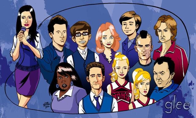 File:Glee-Cartoon-.jpg