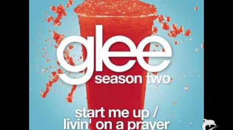 Glee Mash up from the Girls ~ Start Me Up Livin' On A Prayer