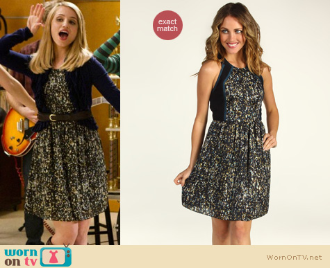 Image - Glee-fashion-rebecca-taylor-sequin-dress-dianna-agron.jpg ...