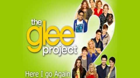 Glee - Here I go again