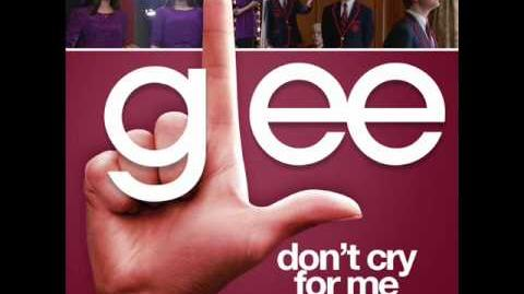 Glee - Don't Cry For Me Argentina (Acapella)