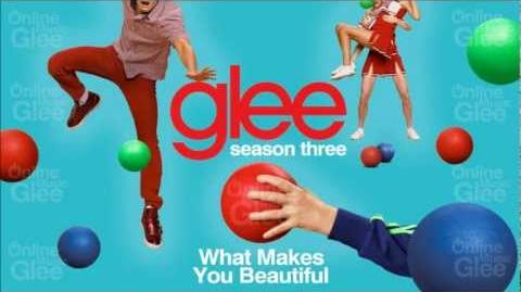 What Makes You Beautiful - Glee HD Full Studio-0