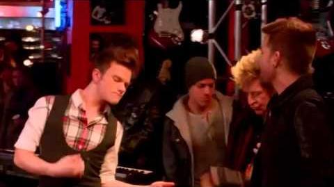 GLEE- Rockstar (Full Performance) (Official Music Video) HD-0