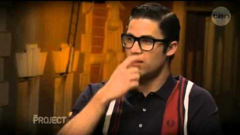 The Project - Darren Criss Interview November 2012