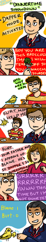File:Klaine dinnertime showdown by randomsplashes-d38lx0j.png