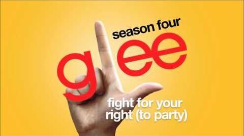 Fight for Your Right (To Party) Glee HD FULL STUDIO