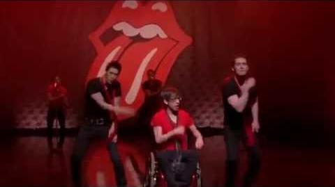 HD Full Performance of Moves Like Jagger Jumpin' Jack Flash from Yes No GLEE