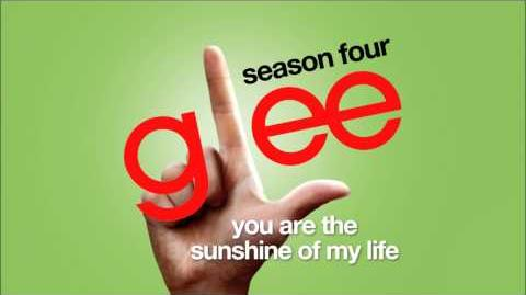 You Are the Sunshine of My Life - Glee HD FULL STUDIO