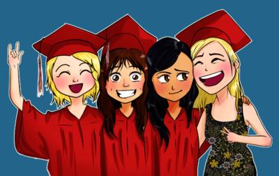File:Glee GraduationGirls.png
