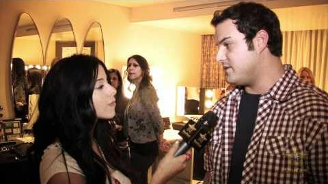 Max Adler StarCam Interview at Golden Globe Gift Suite