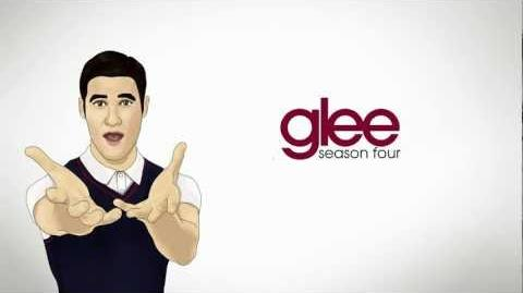 GLEE - It's Time (Blaine Anderson - Darren Criss) (lyrics)