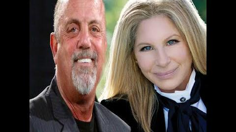 "Barbra Streisand with Billy Joel ""New York State of Mind"""