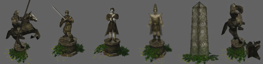 Object statues