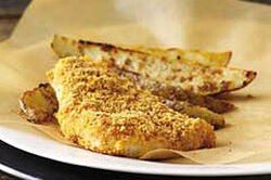Easy Baked Fish n Chips2