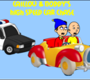 Caillou Noddy S High Speed Car Chase