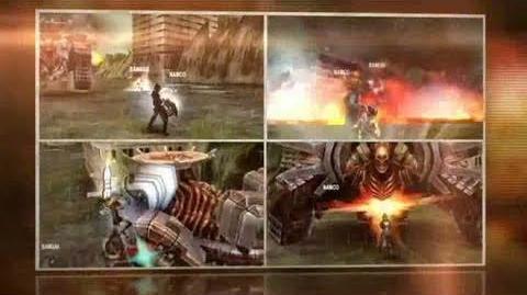 Gods Eater Burst - PSP - Launch Trailer