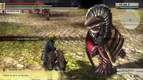 GOD EATER 2 RAGE BURST - Difficulty 1 Hard Mission- Library Assault