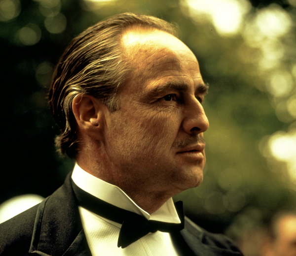 Don Vito Corleone Marlon Brando Godfather