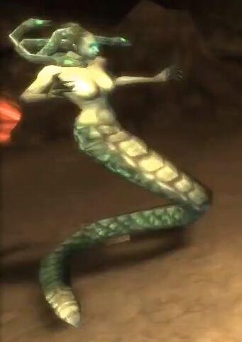 File:Gorgon (God of War Chains of Olympus).jpg