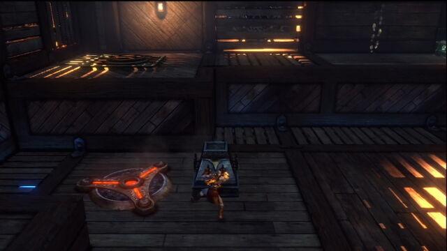 File:God of War 3 Lab moving stone.jpg