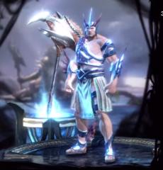 War armor of Poseidon Maul