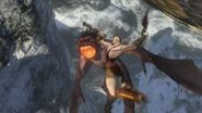 Kratos vs beast