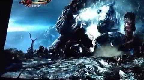 God Of War III Chaos Poseidon NO Damage