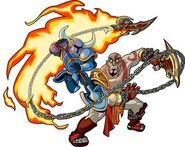 Shovel Knight VS Kratos