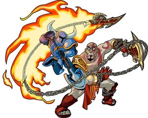 File:Shovel Knight VS Kratos.jpg