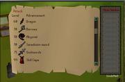 Skill menu 1