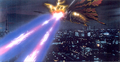 Concept Art - Godzilla vs. Mothra - Battra Imago Beams 2
