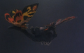 Godzilla And Mothra The Battle For Earth - - 1 - Mothra and Battra carry Godzilla away