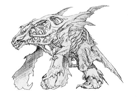File:Concept Art - Godzilla 2000 Millennium - Orga 27.png