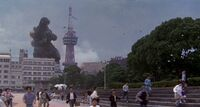 Godzilla's in Beppu