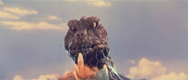 File:All Monsters Attack - Godzilla gets ready to scream.png