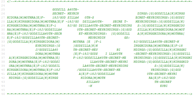 File:Godzilla 60th Website - Secret Gojira In Code.png