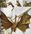 King Ghidorah ShodaiGhido Flying Prop