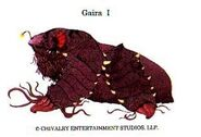 Unused Gamera monster