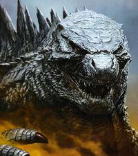 Godzilla 2014 by Yuji Kaida